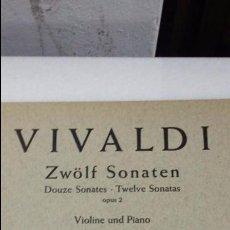 Partituras musicales: PARTITURA VIVALDI CONCERTO VIOLIN & PIANO - EDITION SCHOTT 903 . Lote 59697547
