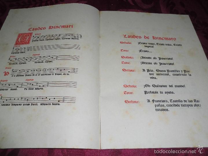 Partituras musicales: magnifico laures bincmari del 1941,edicion de solo 300 ejemplares,de montserrat - Foto 3 - 61076679
