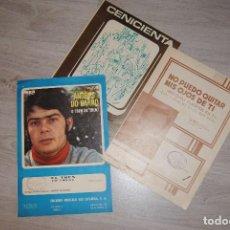 Partituras musicales: PARTITURAS VARIADAS DE LOS AÑOS 60,70...ANDRES DO BARRO..MATT MONRO...FORMULA V.... Lote 61681136