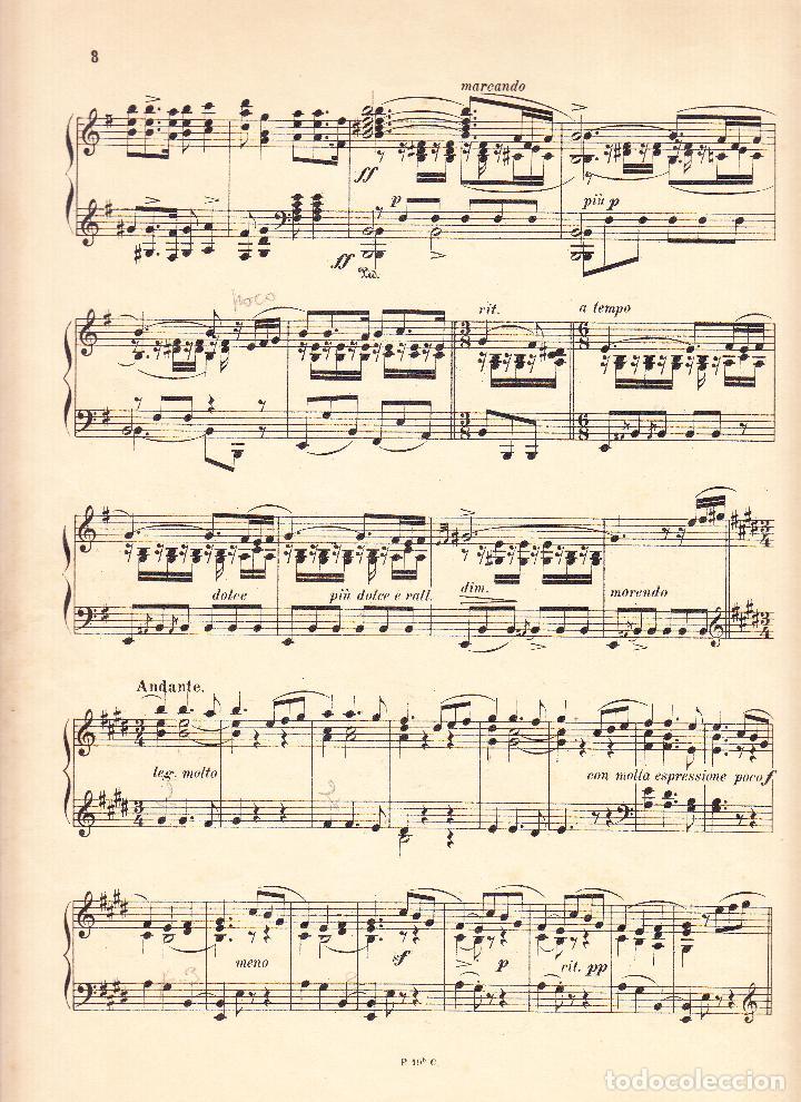 Partituras musicales: E GRANADOS - DANZAS ESPAÑOLAS VOL. II - UNION MUSICAL ESPAÑOLA - Foto 3 - 61929668