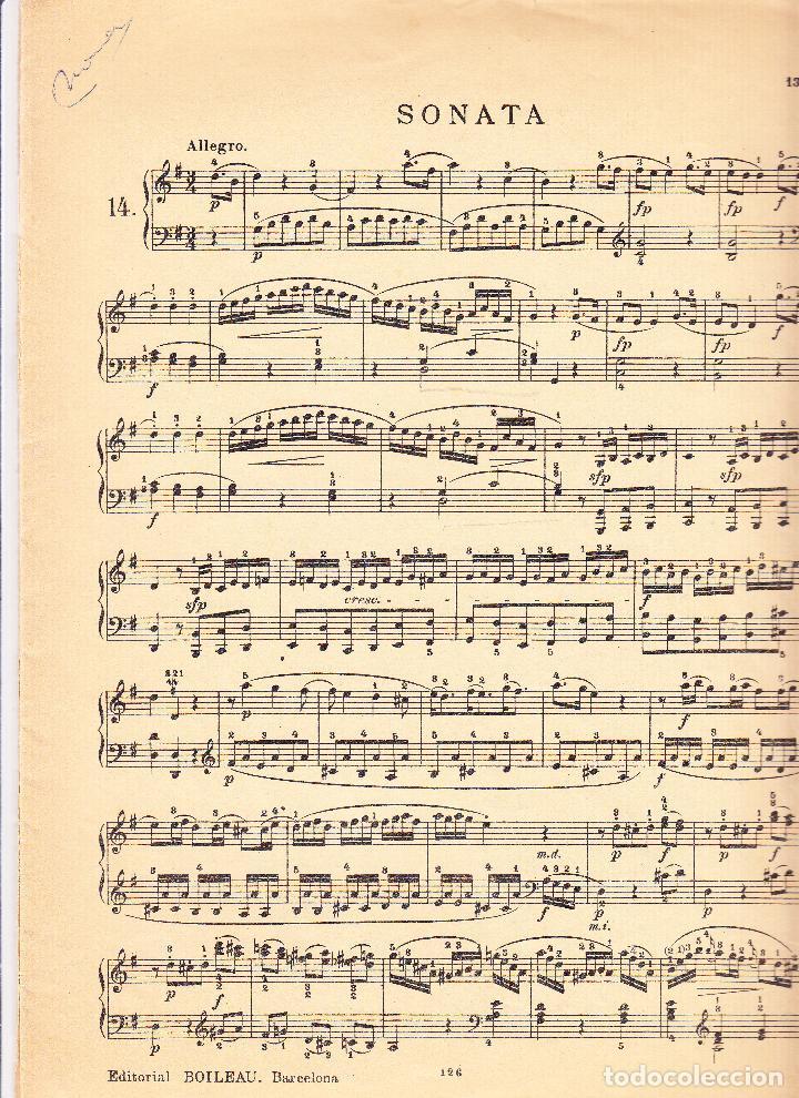 Partituras musicales: EDICIONES IBERICAS - SONATA - BOILEAU - Foto 3 - 61932504