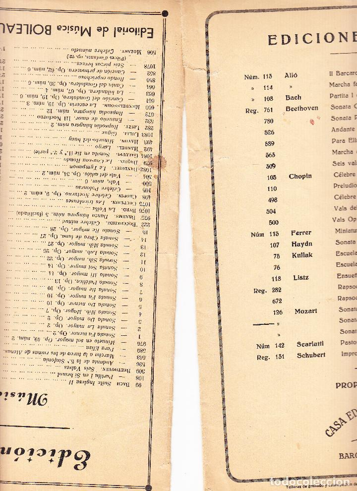 Partituras musicales: EDICIONES IBERICAS - SONATA - BOILEAU - Foto 6 - 61932504