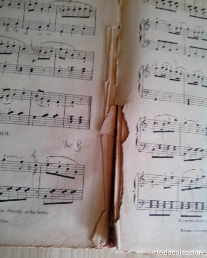 Partituras musicales: COURS PRATIQUE DE PIANO - ALBERT DE LA GRAVELIERE - A LE CARPENTIER - Foto 4 - 62334616
