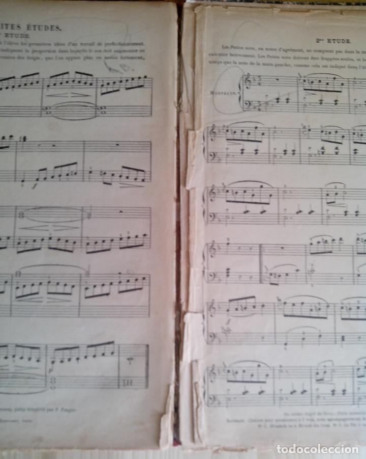 Partituras musicales: COURS PRATIQUE DE PIANO - ALBERT DE LA GRAVELIERE - A LE CARPENTIER - Foto 5 - 62334616