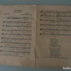 Partituras musicales: ANTIGUA PARTITURA PIANO: AIMER CANCION NAPOLITANA – CHARLES FALLOT – ALBERT DE CRISTOFARO. Lote 63276468