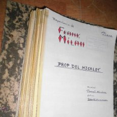 Partituras musicales: ARCHIVO MUSICAL COLECCION DE ANTIGUAS PARTITURAS DE PASCUAL SANCHIS C / GARROFA -2 VALENCIA. Lote 50542224