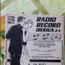 Partituras musicales: ANTIGUA PARTITURA PARTITURAS. Lote 64661783