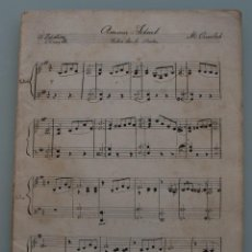 Partituras musicales: ANTIGUAS PARTITURAS: AMOUR IDEAL, LA NIETA DE CARMEN, EL CRISTO DE LEZO, TENGO EL CORAZON GITANO . Lote 64979727
