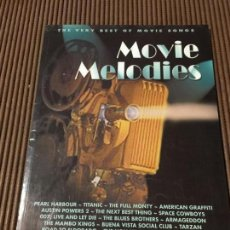 Partituras musicales: MOVIE MELODIES ( PIANO Y AC GUITARRA ). Lote 65419171