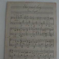 Partituras musicales: ANTIGUA PARTITURA MUSICA: THE PINK LADY – IVAN CARYLL – NOTAS MUSICALES APUNTES PRINCIPIOS AÑOS 1900. Lote 65445346