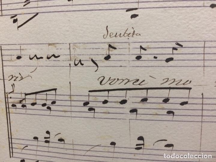 Partituras musicales: partitura vorrei morir Paolo Tosti - Foto 6 - 65879078