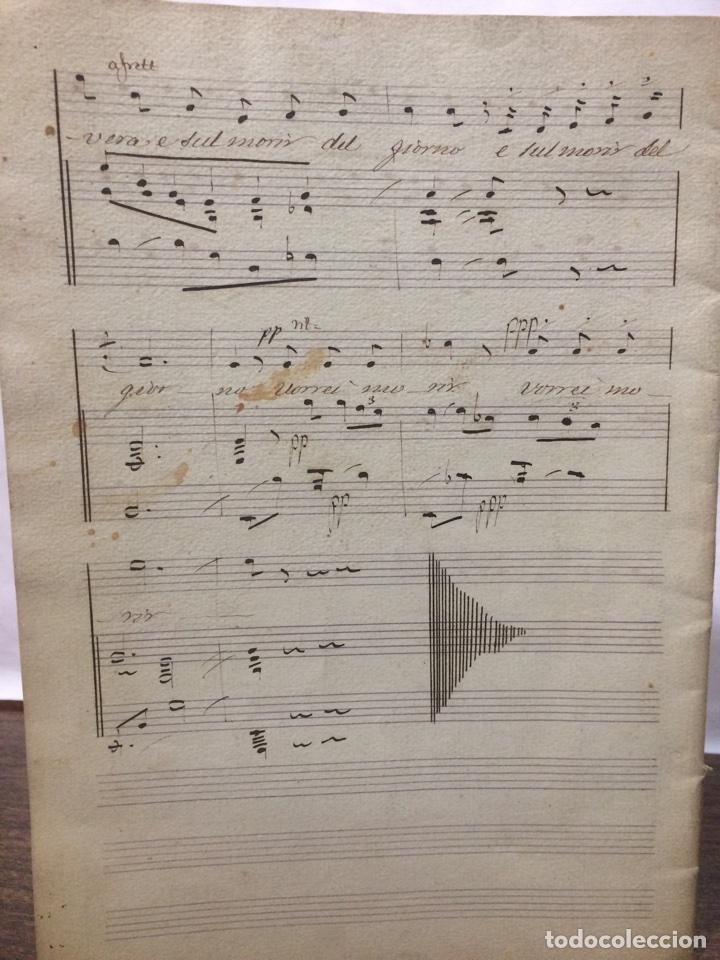 Partituras musicales: partitura vorrei morir Paolo Tosti - Foto 8 - 65879078