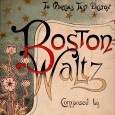 Partituras musicales: WORSLEY : BOSTON WALTZ (R. GUARDIA S.F.). Lote 68964225