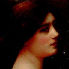 Partituras musicales: GALLINI : POURQUOI BAISSER LES YEUX? (GREGH, 1907) CUBIERTA CROMOLITOGRAFÍA. Lote 68971529