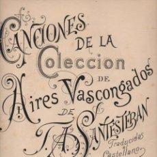 Partituras musicales: IPARRAGUIRRE : GUERNICACO ARBOLA (SANTESTEBAN) ZORTZICO ÁRBOL DE GUERNICA. Lote 71098301