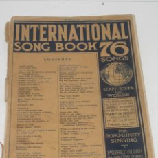 Partituras musicales: ANTIGUA PARTITURA INGLESA DEL AÑO 1927. Lote 71918583