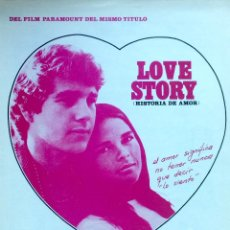 Partituras musicales: PARTITURA LOVE STORY DE 1971. Lote 72684083