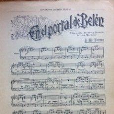 Partituras musicales: PARTITURA SUPLEMENTO LITERARIO MUSICAL. Lote 72686419