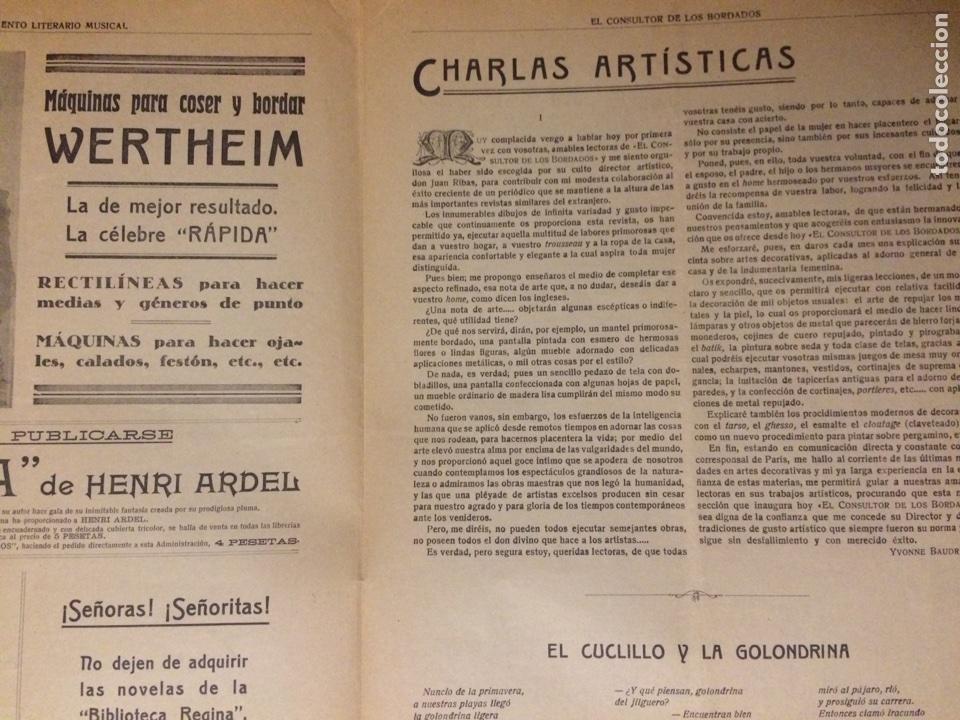 Partituras musicales: PARTITURA SUPLEMENTO LITERARIO MUSICAL - Foto 3 - 72686419