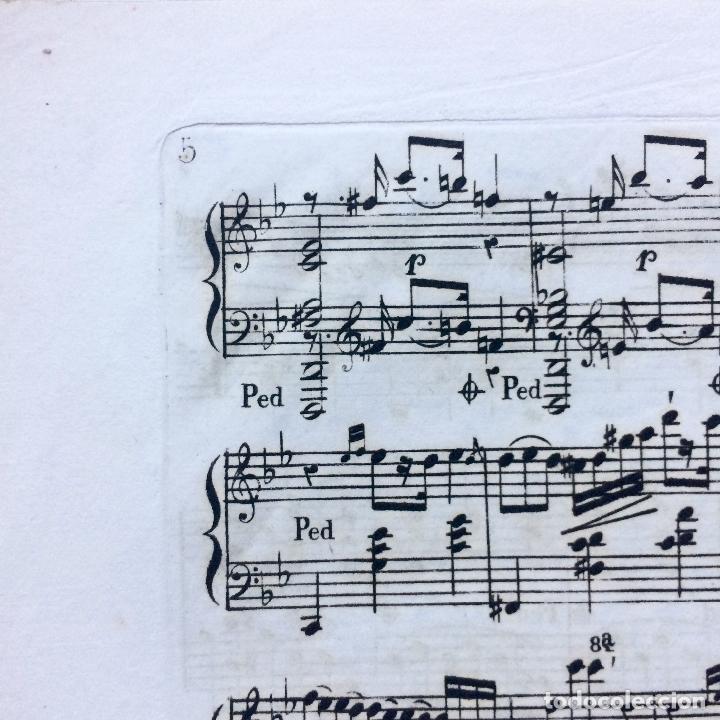 Partituras musicales: LITOGRAFÍA DE PARTITURAS ÁLBUM DE LA YBERIA MUSICAL 1844 - Foto 8 - 72886971