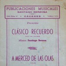 Partituras musicales: PUBLICACIÓN MUSICAL DE SANTIAGO BERZOSA DE 1957. Lote 72888503