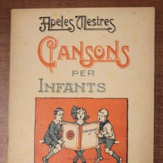 Partituras musicales: CANSONS PER INFANTS. APELES MESTRES. Lote 73293575