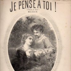 Partituras musicales: NICOLAS FERRI : JE PENSE A TOI (LANGLOIS). Lote 73806431