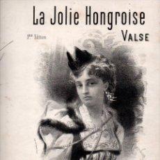 Partituras musicales: EMILE FISCHER : LA JOLIE HONGROISE (LEDUC). Lote 73824511