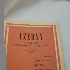 Partituras musicales - CZERNY, PARTITURAS PARA PIANO - 74088039