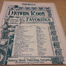 Partituras musicales: PARTITURA / DRAWING ROOM. FAVORITES.GAVOTTE DEBUTANTES. CENTURY MUSIC - NEW YORK.. Lote 75819535