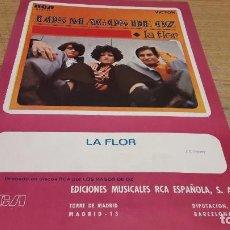 Partituras musicales: PARTITURA / LA FLOR. LOS MAGOS DE OZ. EDICIONES MUSICALES RCA - 1969.. Lote 75922795