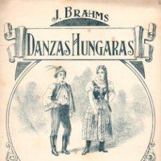 Partituras musicales: BRAHMS : DANZAS HÚNGARAS- DANZA Nº 6. Lote 78763061