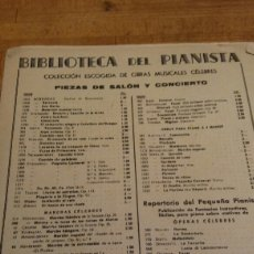 Partituras musicales: PARTIRURA VALD EL DANUBIO AZUL. Lote 79594530