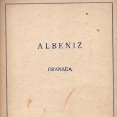 Partituras musicales: ALBÉNIZ : CÓRDOBA (UNIÓN MUSICAL). Lote 79629725