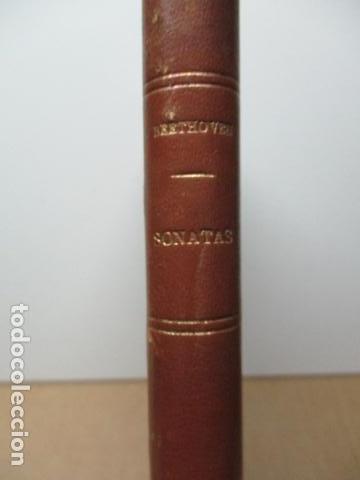 Partituras musicales: L.BEETHOVEN. SONATAS.TOMO I. - VER FOTOS - Foto 3 - 137891694