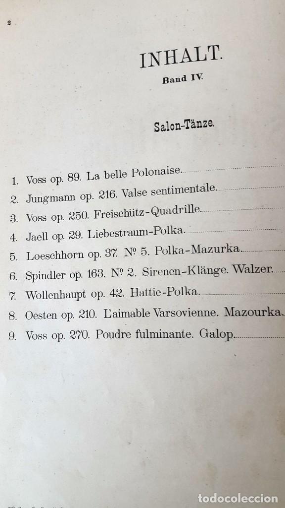 Partituras musicales: 42 PARTITURAS PIANO SOLO. SAMMLUNG LEIPZIG. ENCUADERNADAS XIX - Foto 8 - 80514865