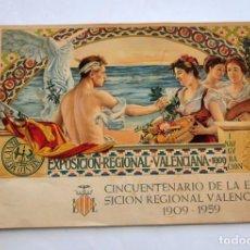 Partituras musicales: CINCUENTENARIO EXPOSICION REGIONAL VALENCIANA HIMNO A VALENCIA HIMNO REGIONAL VALENCIANO 1959. Lote 82934732