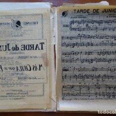 Partituras musicales: AUTÓGRAFA? DE ENRIQUE RAMÍREZ GAMBOA, OLGA RAMOS, CARTA FIRMADA, 16 HOJAS MANUSCRITAS, 7 IMPRESAS. Lote 83404188