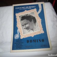Partituras musicales: DOMINO VALS.MUSICA DE LOUIS FERRARI CANCIONES DEL MUNDO . Lote 83513752