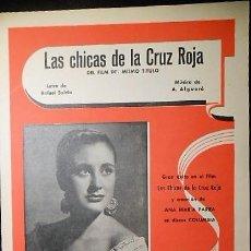 Partituras musicales: ANA MARIA PARRA. LAS CHICAS DE LA CRUZ ROJA. ALGUERÓ 1959.. Lote 87634468