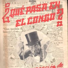 Partituras musicales: DODÓ ESCOLÁ : QUÉ PASA EN EL CONGO (IMP. CARCELLÉ, 1960). Lote 88337460
