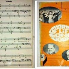 Partituras musicales: HIMNARIO CRISTIANO EN INGLES. . Lote 89542920