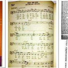 Partituras musicales: HIMNARIO CRISTIANO INGLES ALEMÁN. Lote 89543224