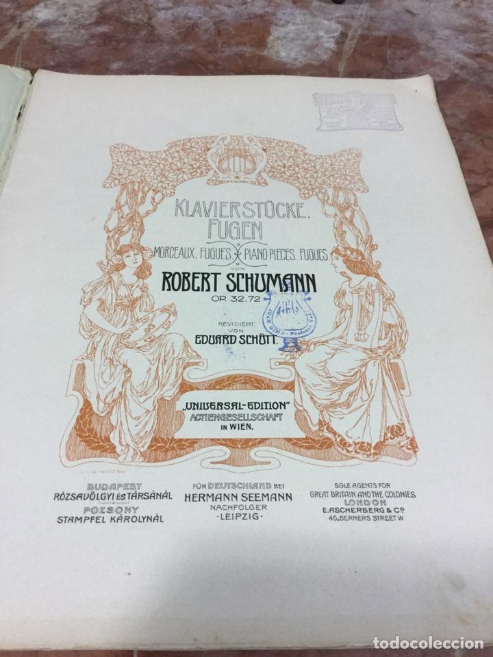 Partituras musicales: PARTITURA MUSICAL SCHUMANN - Foto 2 - 93188597