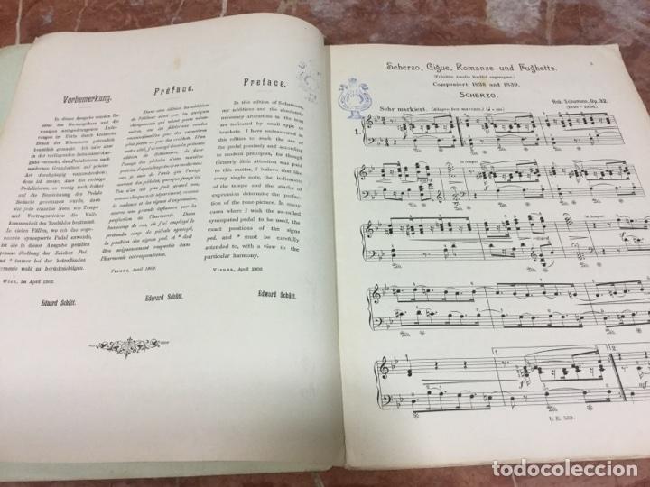 Partituras musicales: PARTITURA MUSICAL SCHUMANN - Foto 5 - 93188597