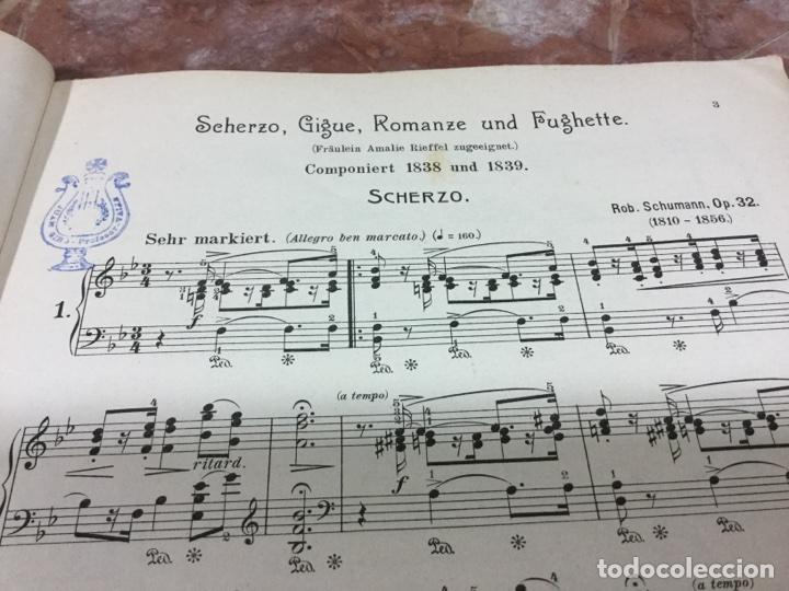 Partituras musicales: PARTITURA MUSICAL SCHUMANN - Foto 6 - 93188597