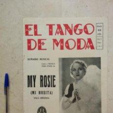 Partituras musicales: ANTIGUA PARTITURA REVISTA - EL TANGO DE MODA 184 - PARTITURAS - LEILA HYAMS. Lote 97339591