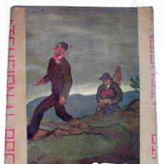 Partituras musicales: ANTIGUA PARTITURA ALBUM ALMA ASTURIANA. MAYA Y LAVANDERA 2ª EDICIÓN.PORTADA DE NICANOR PIÑOLE. 1911. Lote 97683051