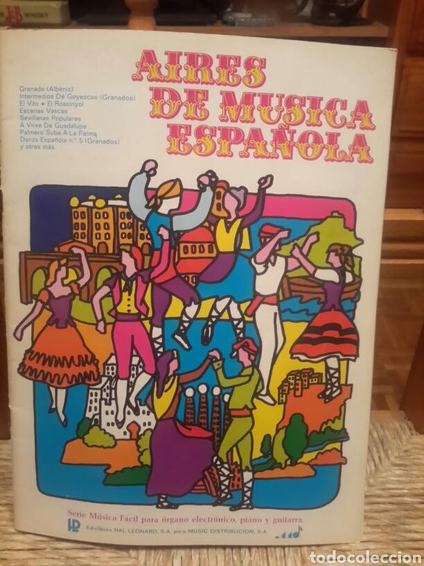 AIRES DE MUSICA ESPAÑOLA (Música - Partituras Musicales Antiguas)