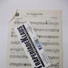 Partituras musicales: PARTITURA CUMBIA. LAREDO. TROMPETA + QUIERES ESCAPARTE. LUIS AGUILE. TDKP12. Lote 98922075